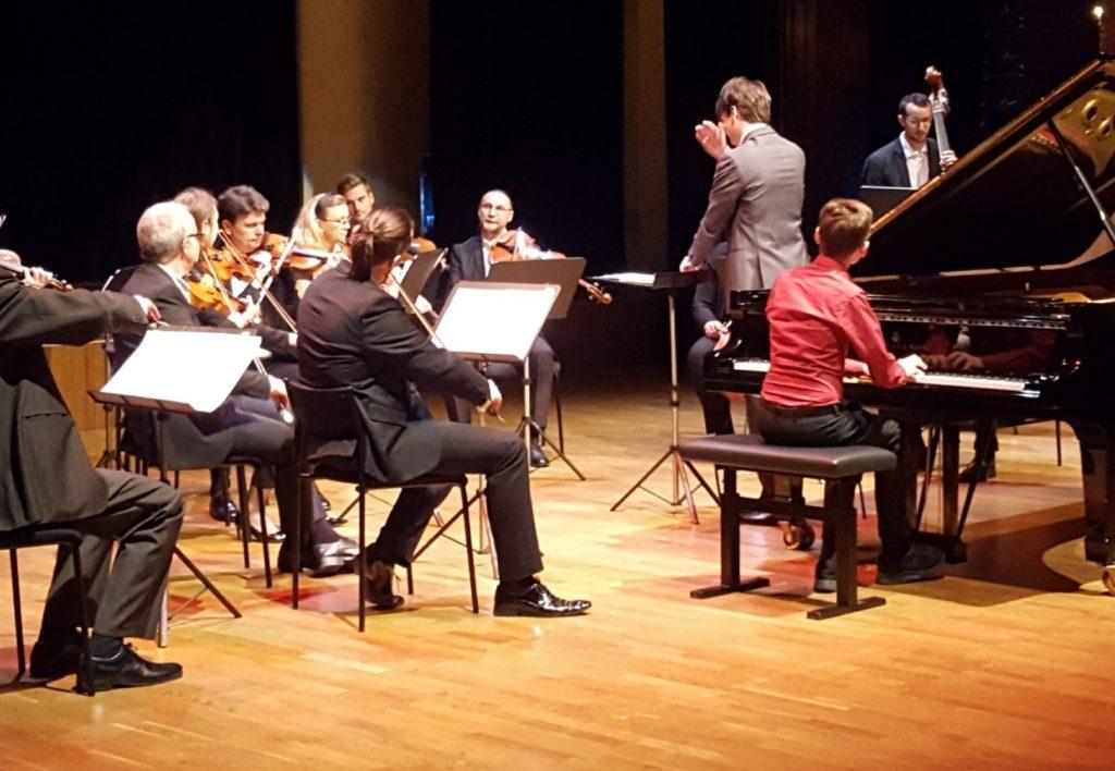 Axel Borgqvist spelar Schubert Impromptu No 2 i Ess-dur
