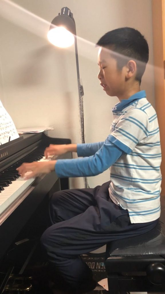 Mulin Xu spelar Für Elise