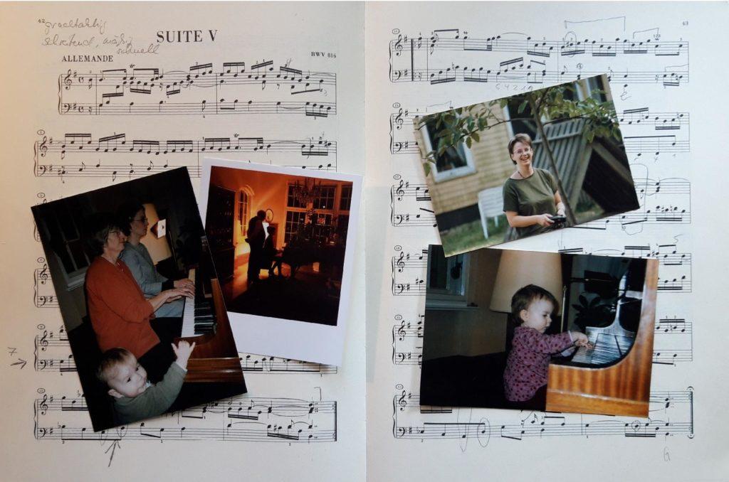 Sabine Bake (född Pusch), Berlin skickar en födelsedagshälsning (foto)